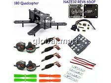 ARF QAV180 180mm Carbon Quadcopter Frame Naze32 Rev6 6DOF 1804 motor 12A 4045