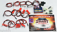 RC car truck LED lighting Kit Simulated action brake, headlight and signal light