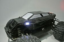 HPI SAVAGE XS REAL CARBON FIBER CONCEPT BODY WITH LIGHTS