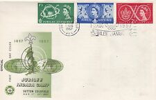 GB 1957 Jubilee Jamboree Unadressed  First Day Cover Very Good Condition