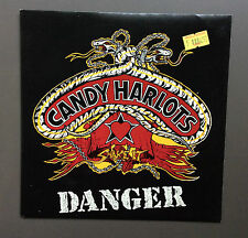 "CANDY HARLOTS - Danger 7"" Vinyl Single Record EX+ 1990 45 Australian Glam Rock"