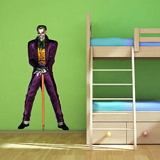 Batman Joker Multi Colour Wall Art Sticker Superhero Boys Bedroom Decal Mural