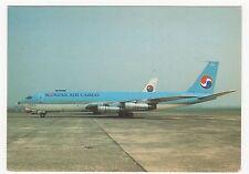 Korean Air Cargo Boeing 707-321C Aviation Postcard, A824