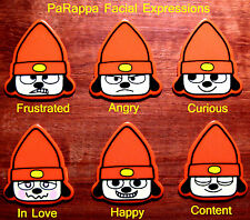 PaRappa Guitar Pick Collection; 6 DIFFERENT Faces to Choose From