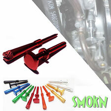 Gas Gas EC 250 300 Keihin Easy Adjust Idle Screw & Air Screw Set  Red Anodised
