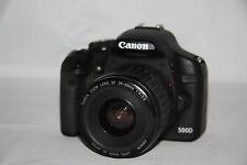 EOS 500D Canon + objectif + accessoires
