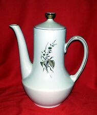 """Winterling Bavaria Brown Daisy Pattern - Teapot with Lid - 9"""" Tall"""