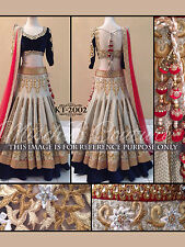 Exclusive Indian Designer Bridal Wedding Ethnic Lehenga Choli KT-2002