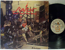 RAVEN Rock Until You Drop LP NEAT Records 1001 Metal NWOBHM Made In Italy