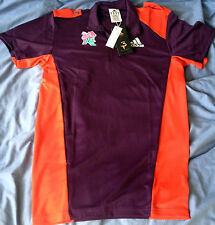 London 2012 Games Maker Paralympic Volunteer Polo Shirt Official Adidas BNWT S