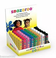 SNAZAROO STICKS FACE PAINT PAINTING MAKE UP CRAYON PROFESSIONAL 8CM FANCY DRESS
