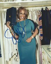 Gayle King *CBS This Morning Anchor* Hand Signed 8x10 Photo w/COA Oprah Winfrey