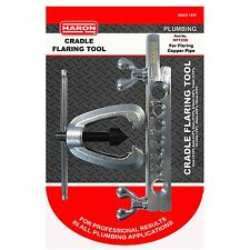 Haron CRADLE FLARING TOOL Smooths Plumbing Copper Pipe Joins HFT250 Aust Brand
