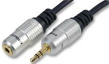 1m OFC 3.5mm Jack Enchufe Macho a Hembra Cable De Audio Estéreo AUX Socket Extension