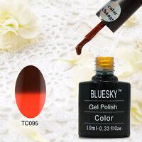 BLUESKY NEW TC95 THERMAL COLOUR CHANGE UV LED SOAK OFF GEL NAIL POLISH 10ML