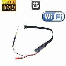 FHD 1080P Wireless WiFi IP Spy Hidden Camera DIY Module Mini DV Motion Nanny Cam