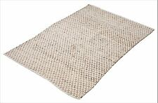 Jute Cotton Flat Weave Handwoven Rug 120x180cm - Limited Stock