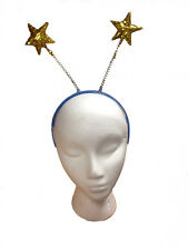 Gold Glitter Star Head Boppers Headband Christmas Nativity Party Fancy Dress New