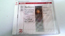 "KURT MASUR ""BEETHOVEN THE COMPLETE SYMPHONIES 2"" 2 CD 17 TRACKS 454 935-2"