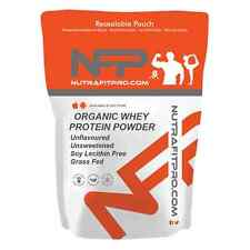 Organic Whey Protein Powder 500g Unflavoured Unsweetened Soy Lecithin Free