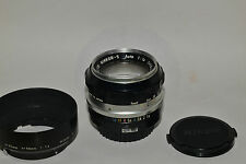 Nikon Nippon Kogaku Nikkor-S 58mm f/1,4 (5,8cm), non-AI (#171735) Top!