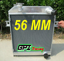 56MM ALLOY RADIATOR JAGUAR MK1/MK2 MK I/II S-TYPE SALOON M/T 1955-1967