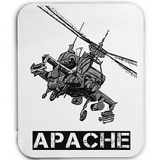APACHE HELICOPTER - MOUSE MAT/PAD AMAZING DESIGN
