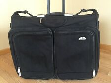 "Samsonite Wheeled 24"" Garment Bag, Black."