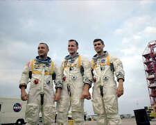 APOLLO 1 CREW IN TRAINING 8x10 PHOTO NASA