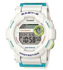 Casio Baby-G * BGD180FB-7 G-Lide White and Blue Surf Watch for Women COD PayPal