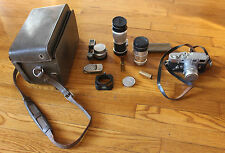 Leica M3 1959 35mm Camera complete kit in case