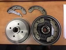 VAUXHALL CORSA B NOVA TIGRA REAR BRAKE DRUMS  BRAKE SHOES X 2 NO ABS