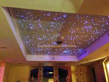 ciel étoilé kit RGB LED 200 fibres optique changement de couleur avec 7 couleurs