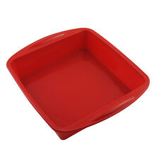 7.3×1.6 inch Food Grade Silicone Square Bread Cake Mold Baking Pan Ship From US