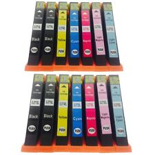 14-Pack/Pk T277 T277XL Ink Cartridges Not-OEM for Epson XP-850 XP-860 XP-950
