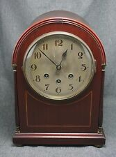 German MANTLE CLOCK - Westminster Chimes - Quarter Hour - WORKS