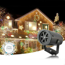 Xmas Snowflake LED Laser Moving Projector Light Outdoor /Indoor Landscape Lamp