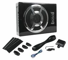 "Boss BASS800 800W Slim/Low-Profile 8"" Under Seat Amplified/Powered Subwoofer/Sub"