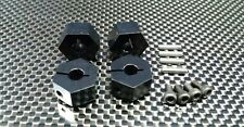 Axial EXO, SCX10, Wraith Upgrade Parts Aluminum Hex Adapter (14mmx9mm) - Black