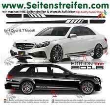 MERCEDES Benz E Classe 507/EDITION 1 pages Bandes Autocollant Décor set 2016