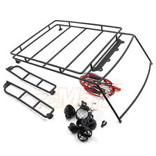 Xtra Speed Crawler Hard Top Body Metal Cage Roof Luggage Tray Led Car #XS-59499