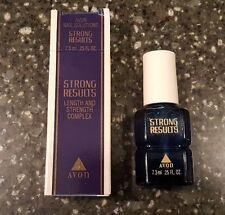 Avon Nail Solutions Strong Results 0.25 oz - New Old Stock
