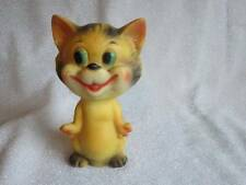 Vintage Cat Squeak Toy Rubber Squeaky Kitten Cat