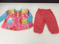 Catimini 2 piece outfit set age 6M/67 mois top bottoms summer filles designer