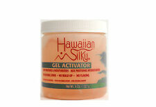 HAWAIIAN SILKY HAIR GEL ACTIVATOR NATURAL SHINE 8 OZ.