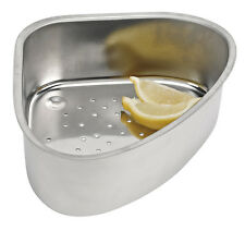 Stainless Steel Sink Corner Strainer Collect Cutting Scraps in your Sink New