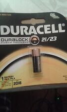 Duracell MN-21B 12V Security Battery DURALOCK DL21 DL23 MN21 A23 21/23 EXP 2018