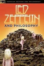 LED ZEPPELIN AND PHILOSOPHY (Popular Culture and Philosophy): WH2-L : PB721: NEW