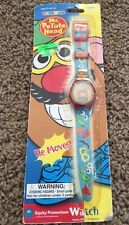 Mr Potato Head Watch Vintage Sealed New Wrist Watch Hologram He Moves