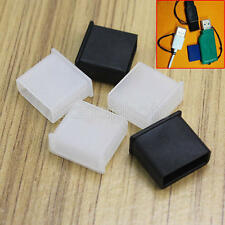 5 Pieces Replacement USB Male Plug Caps Protect Cover Anti-dust Lids Plastic